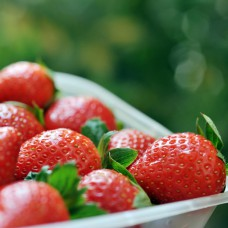 Locally-grown strawberries often make it into various dishes and beverages at Constanza restaurants