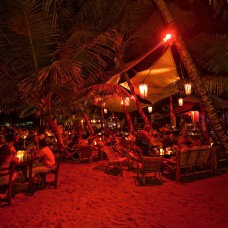 Cabarete at night